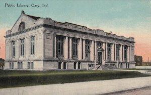 GARY, Indiana, 1900-1910s; Public Library