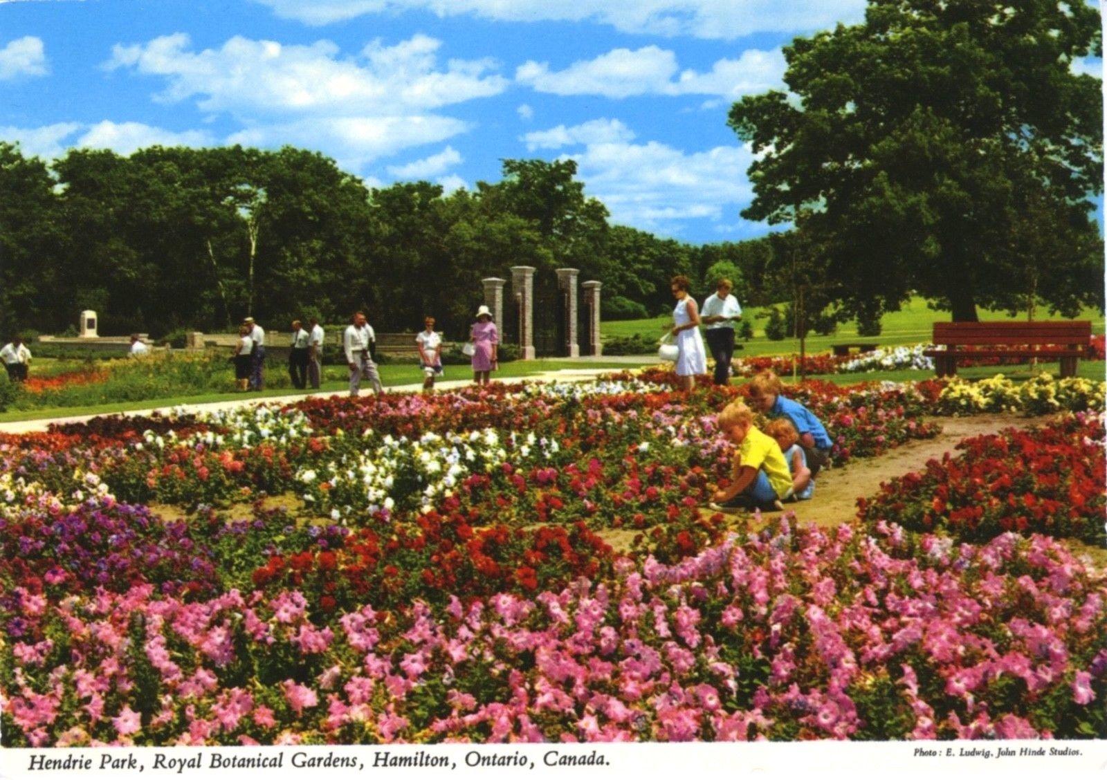 Postcard Hendrie Park, Royal Botanical Gardens, Hamilton, Ontario ...