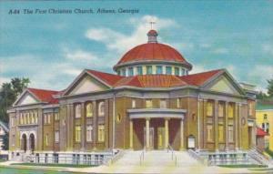 The First Christian Church Athens Georgia