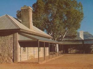 Australian Old Telegraph Station Alice Springs Postcard