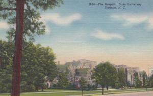 DURHAM , North Carolina , 30-40s ; The Hospital , DUKE University