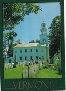 Vermont Bennington Historic First Church