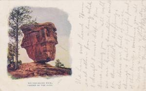 Balanced Rock,Garden of the Gods,Colorado Springs,Colorado,PU-1906