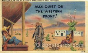 Western Cowboy, Cowgirl Postcard Postcards