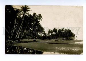 173425 SINGAPORE TANJONG Katong Vintage photo postcard