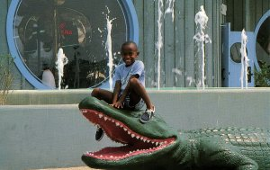 SC - South of the Border. Pedro's 25-foot Gator