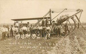 MI, Detroit, Michigan, RPPC, William L Dillon, Contractor, Steam Excavator