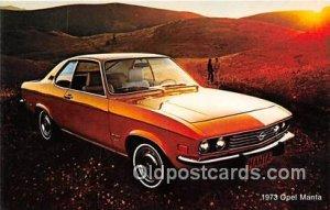 1973 Opel Manta unused