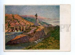 158914 GEORGIA Electro-station LENIN by MASHKOV vintage AKhR