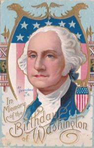 George Washington In Memory Of 1909
