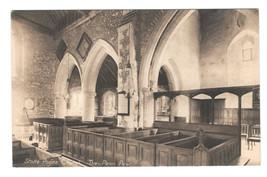 UK Buckinghamshire Stoke Poges Church The Thomas Penn Pew Vintage Postcard