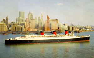 Cunard Line - RMS Queen Mary   (Ship)