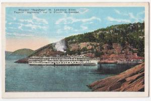Steamer Saguenay, St Lawrence River