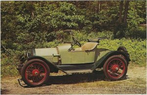 1963 Postcard, 1915 Chevrolet, Amesbury Special Roadster, Southampton, New York