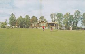 The Clubhouse, Fredericton Golf Club, Fredericton, New Brunswick, Canada, 194...