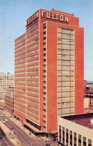 Atlanta GA Fulton National Bank @ Marietta & Forsyth~Henry Grady Monument 1950s