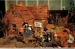 South Dakota Custer Museum Of Western Woodcarvings Log Cabin