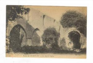 La Nef De l'Eglise, Ruines De Champlieu, France