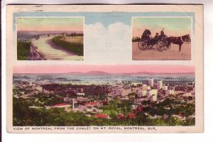 Threeview, Downtown, Mount Royal, Caleche, Montreal, Quebec