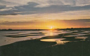 Prince Edward Island , 1950-60s ; Sunset on Carleton Beach