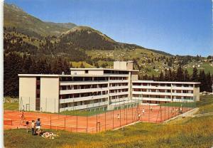 Switzerland Lenzerheide Valbella Grisons Hotel Club Mediterranee Postcard