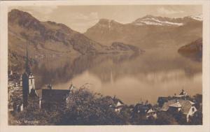 Switzerland Weggis Totalansicht Photo