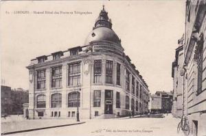 France Limoges Nouvel Hotel des Postes et Telegraphes