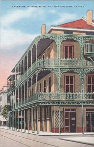 Louisiana New Orleans Lacework In Iron Royal Street