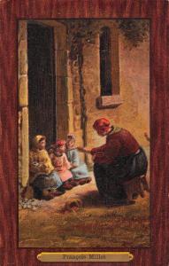 Art Painting gemaelde Francois Millet 6. Pflegemuetterchen