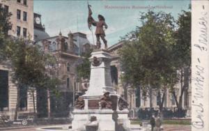 Canada Montreal Maisonneuve Monument 1906