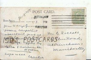 Genealogy Postcard - Rollett? - Elm Road - Altrincham - Manchester - Ref 8912A