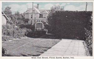 West Oak Street, Floral Scene, Butler, Indiana, 00-10s