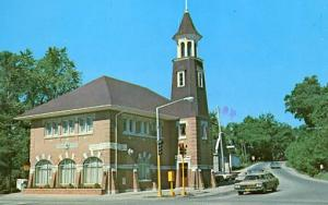 IL - Algonquin. Village Town Hall