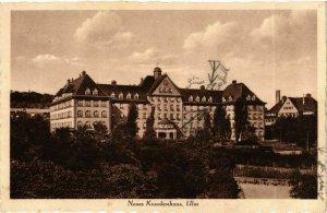 CPA AK Ulm Neues Krankenhaus GERMANY (897005)