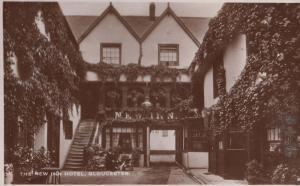 New Inn Hotel Gloucester Real Photo Postcard