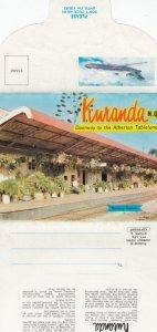 Folder PC; KURANDA, N.Q., Australia, 1940-60s; Doorway to the Atherton Tableland