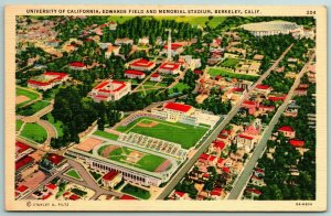 Berkeley~Old Univ of California Memorial Stadium (Replaced 2010) 1935 Linen PC