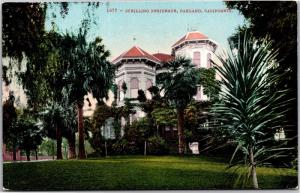 Schilling Residence, Oakland, California Vintage Postcard Y05