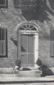 PROVIDENCE, Rhode Island, 40-60s;  Benefit Street Doorway