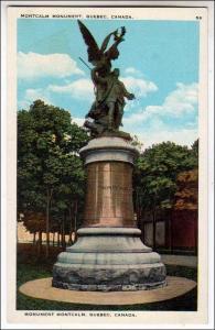 Montcalm Monument Quebec