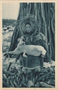 ALASKA, 00-10s; Native Girl , Aureole Boreale, Cercle Arctique