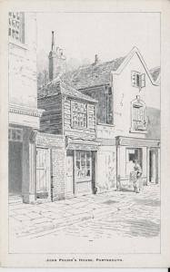 John Pound's House,  Portsmouth, England - Drawing - Unused