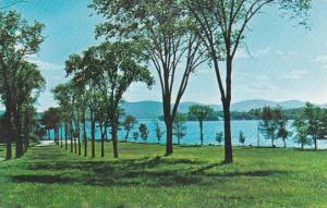 New Hampshire Wolfeboro Lake Winnipesaukee And The Belknap Mountains From Bre...