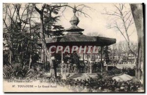Old Postcard Kiosk Toulouse Grand Rond Music