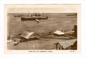 RP: Harbour, Aden , Yemen, 1910-30s