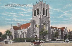 Missouri Kansas City First Congregatiional Church Admiral Boulevard And Highl...