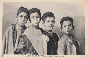 La plus belle grimace , Algeria , 1910-30s