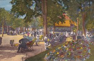 VITTEL, Vosges, France, 1900-1910's; Le Parc A L'Heure De La Musique