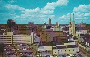 Indiana Fort Wayne View Of Downtown From Lincoln Life Insurance Building