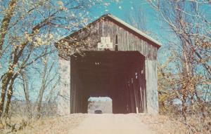 Spring View Cutwright Covered Bridge Salt Creek Bloomington Monroe Co Indiana